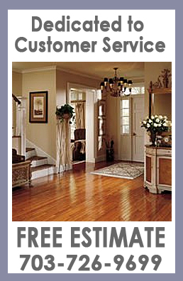 Floor and Design Ashburn, VA, Northern Virginia, NoVa, Loudon County, Customer Service Free Estimate 703-726-9699